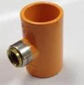 Spears TorqueSafe™ Socket x Gasket FIPT Plastic Tee S4202G