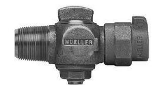 Mueller Industries 1 in. CC x CTS Pack Joint Compression Corporation Stop MP15008NG