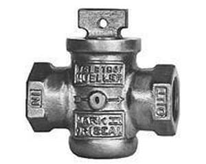Mueller Industries 2 in. FIP Curb Stop Ball Valve with Drain MH10284NK