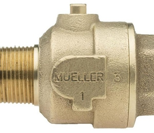 Mueller Industries 1 in. MIP x FIP Ball Corporation Stop MB20046NG