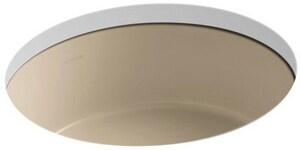 Kohler Verticyl® No-Hole Undermount Round Bathroom Sink K2883