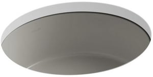 Kohler Verticyl® No-Hole Undermount Round Bathroom Sink K2883