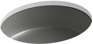 Kohler Verticyl® No-Hole Undermount Oval Bathroom Sink K2881