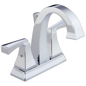Delta Faucet Dryden™ 1.5 gpm Centerset Bathroom Faucet with Double Lever Handle and Pop-Up D2551LF