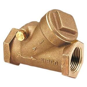 Nibco Bronze Threaded Check Valve NT453B