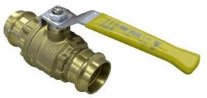 FNW Brass Full Port Press Ball Valve FNW430XLC