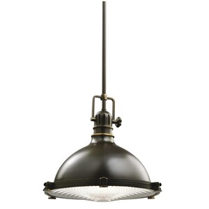 Kichler Lighting 11-1/2 in. 150W 1-Light Medium Pendant KK2666