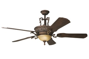 Kichler Lighting Kimberley Collection 5-Blade Ceiling Fan in Berkshire Bronze KK300008BKZ