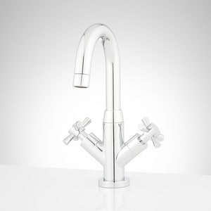 Mirabelle® Milazzo Double Cross Handle Lavatory Faucet MIRWSML102