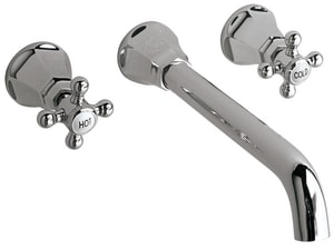 Mirabelle® Boca Raton 2.5 gpm Vessel Filler Lavatory Faucet with Double Cross Handle MIRWSBR200