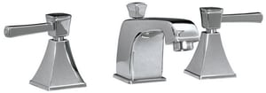 Mirabelle® Cordoba® 1.5 gpm Widespread Lavatory Faucet with Double Lever Handle MIRWSCO800
