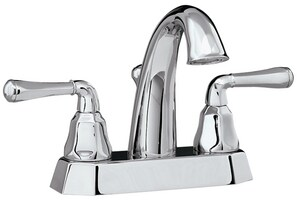 Mirabelle® Key West 2.5 gpm Centerset Lavatory Faucet with Double Lever Handle MIRWSKW400