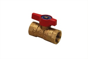 PROFLO® Bronze Lever Handle 2-Piece Gas Ball Valve PF88C
