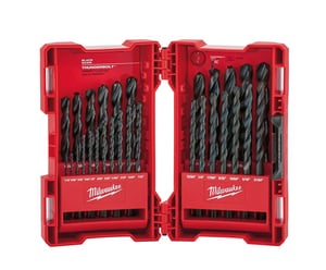 Milwaukee Thunderbolt® Black Oxide Drill Bit Set M48892802