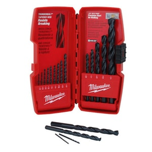 Milwaukee 15-Piece Thunderbolt Black Oxide Set M48892803