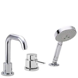Hansgrohe Focus™ 3-Hole Trim Bath in Polished Chrome H04128000