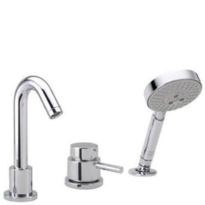 Hansgrohe Talis® S 3-Hole Thermostatic Tub Filler H04127