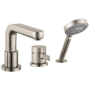 Hansgrohe Metris® S 8 gpm Thermostatic Tub Filler with Single Lever Handle (Trim Only) H04126