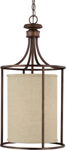 Capital Lighting Fixture Midtown 60 W 2-Light Medium Fix in Burnished Bronze C9042BB473