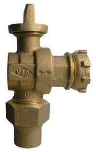 A.Y. McDonald 1 in. Flare x Meter Angle Ball Supply Stop Valve M74602BYGG