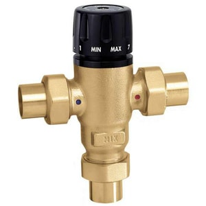 Caleffi North America Sweat 3 Way Mixing Valve C52109A