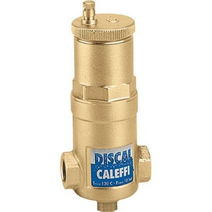 Caleffi Discal® Sweat Compact Air Separator with Check C5510AC