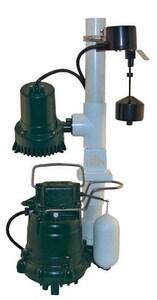 Zoeller Basement Sentry® Auto 507 W-M53 Sump Pump System Z5070008