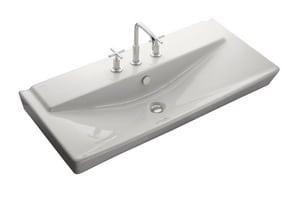 Kohler Reve™ 39 in. Lavatory in White K5026-8-0