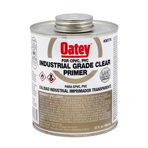 Oatey 32 oz. Low Volatile Organic Compound Primer in Clear O30774