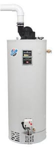 Bradford White Defender Safety System® 40 gal. 40000 BTU Stainless Steel Power Vent LP Gas Water Heater Certified Energy Factor Burner BM1TW40S6FSX478