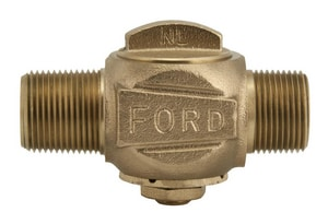 Ford Meter Box MIPT Brass Corporation Stop FF5004NL