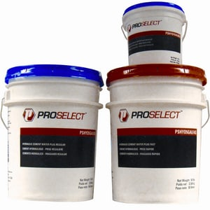 PROSELECT® 10# Pail Regular Set Hydraulic Cement PSHYD1GALREG