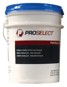 PROSELECT® 50 lb. 50# Pail Regular Set Hydraulic Cement PSHYD5GALREG at Pollardwater