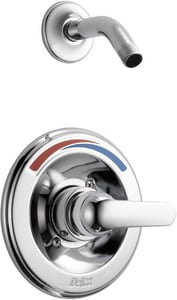 Delta Faucet Classic Monitor® Single Lever Handle Shower Trim in Polished Chrome (Less Showerhead) (Trim Only) DT13291SLHD