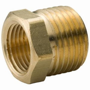 1 x 3/4 in. MNPT x FNPT Brass Reducing Bushing IBRLFBGF at Pollardwater