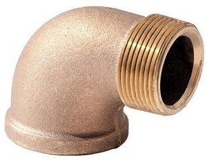 Brass Street 90 Degree Elbow IBRLFS9