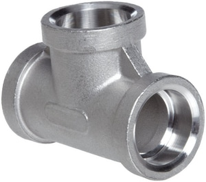 304 Stainless Steel Socket Tee IS4CSTSP114