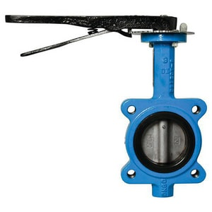 Mueller Steam Specialty Ductile Iron EPDM Lug Lever Operator Butterfly Valve M88INB61