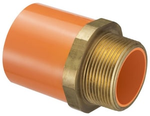 Spears Manufacturing CPVC Socket By Male Sprinkler Adapter S4236
