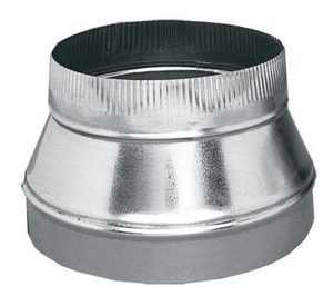 D & L Airflow Solutions 10 in. 26 ga Tapered Reducer SHMSFT2610