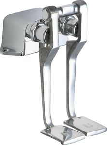 Chicago Faucet 2-Handle 2-Hole Pedal Valve C625LPSLOABCP