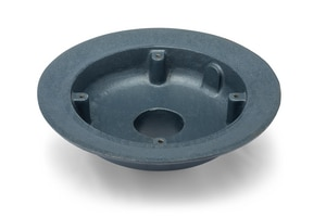Zurn 12-1/2 x 3 in. No-Hub Roof Drain Body ZP1003NH