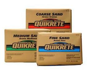 Quikrete Rock Silica Fine Sand Q691255