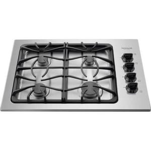 Frigidaire Gallery 30 in. Cast Iron Gas Grate Cooktop FFGGC3045K