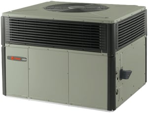 American Standard HVAC 4YCY4 Series R-410A Two-Stage Spine Fin Convertible LP or Natural Gas Packaged Gas/Electric Unit A4YCY4B1096A
