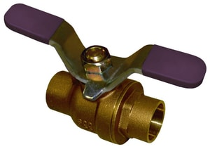 FNW Brass Full Port Sweat 600# Ball Valve FNW411T