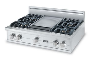 Viking Range 36 in. Gas Rangetop With Grid VVGRT5364GSS