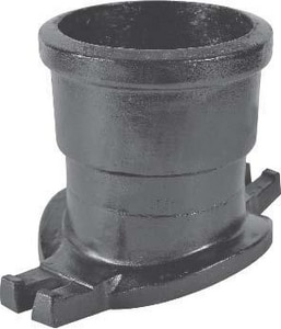 Jumbo Mfg. 4 in. Cast Iron IPT Tap On Pipe Saddle Fitting J840T6