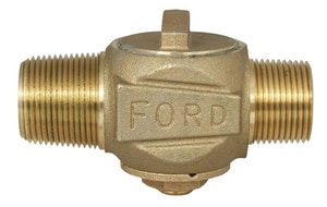 Ford Meter Box 1 in. CC x MIPT Brass Corporation Stop FF4004NL