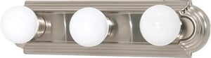 Nuvo Lighting Racetrack 18 in. 15 W 3-Light Vanity Racetrack Style in Brushed Nickel N603301